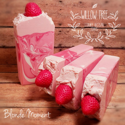 Berry Champagne Luxury Artisan Soap
