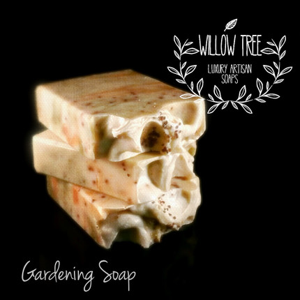TRY ME SPECIAL SIZE | 1/3 OF A BAR of Farm Fresh Gardener's Artisan Soap Sorry no pics available