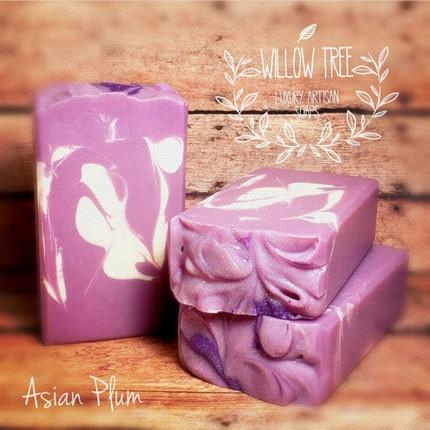 Asian Plum Luxury Artisan Soap