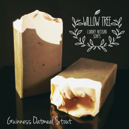 Guinness Oatmeal Stout Luxury Artisan Soap with Activated Charcoal