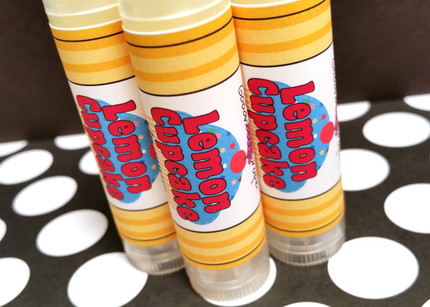 Lemon Cupcake Lip Balm