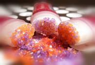 Orange Lavender Sugar Lip Scrub