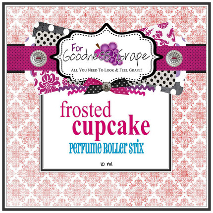 Frosted Cupcake Perfume Roller Stix 10 ml - Roll on Perfume Oil  A deliciously decadent, moist white cupcake smothered in rich, buttercream frosting. You can't resist this one - ooh la la!  Perfect to carry along in your purse for little touch-ups throughout the day.  PERFUME ROLLER STIX are great for layering scents as well, which is one of my favorite ways to use them. Just put one or two in your purse or in your pocket and you are good to go!  PERFECT SIZE FOR PURSE, TRAVEL OR BACKPACK  All of my Perfume Roller Stix and Perfume Stix are blended with are all infused with richly scented perfume grade oils and essentials oils and in perfume ratios into a blend of coconut and jojoba oils which absorb quickly into the skin to keep you smelling GRAPE for hours!    To use: Apply to pulse points on wrists, inside the elbows, behind the ears, or anywhere you want a boost of fragrance. Allow it to sink in for 1-2 minutes and youƒ??ll smell ƒ??GRAPEƒ?? for hours! (Great!)  Follow this link to see more of my PERFUME Roller Stix in different fragrances: http://www.etsy.com/shop/forgoodnessgrape?section_id=7139636  Follow this link to get back to my main shop page: http://www.etsy.com/shop/forgoodnessgrape?ref=si_shop   This listing is for 1 PERFUME ROLLER STIX and contains approximately 10 ml.  _____________________________________________ Click here to see the BUZZ about my ƒ??GRAPEƒ?? products: http://www.etsy.com/feedback_received.php?feedback_type=from_buyers