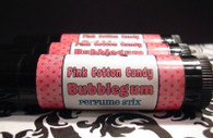 Pink Cotton Candy Bubblegum Solid Perfume Stick
