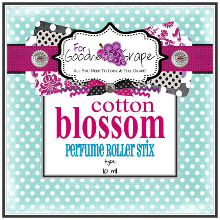 Cotton Blossom (type) Perfume Oil - 10 ml - Roll on Perfume