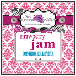 Strawberry Jam Perfume Oil - 10 ml - Roll on Perfume  Super sugary and so much like real strawberry jam that you can smell the little black seeds from the strawberries! Ripe juicy berries and just that little 'something' to make this an incredibly realistic strawberry jam perfume.  Perfect to carry along in your purse for little touch-ups throughout the day.  PERFUME ROLLER STIX are great for layering scents as well, which is one of my favorite ways to use them. Just put one or two in your purse or in your pocket and you are good to go!  PERFECT SIZE FOR PURSE, TRAVEL OR BACKPACK  All of my Perfume Roller Stix and Perfume Stix are blended with are all infused with richly scented perfume grade oils and essentials oils and in perfume ratios into a blend of coconut and jojoba oils which absorb quickly into the skin to keep you smelling GRAPE for hours!    To use: Apply to pulse points on wrists, inside the elbows, behind the ears, or anywhere you want a boost of fragrance. Allow it to sink in for 1-2 minutes and youƒ??ll smell ƒ??GRAPEƒ?? for hours! (Great!)  Follow this link to see more of my PERFUME Roller Stix in different fragrances: http://www.etsy.com/shop/forgoodnessgrape?section_id=7139636  Follow this link to get back to my main shop page: http://www.etsy.com/shop/forgoodnessgrape?ref=si_shop   This listing is for 1 PERFUME ROLLER STIX and contains approximately 10 ml.  _____________________________________________ Click here to see the BUZZ about my ƒ??GRAPEƒ?? products: http://www.etsy.com/feedback_received.php?feedback_type=from_buyers