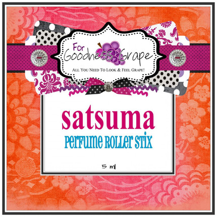 Satsuma (type) Perfume Oil - 5 ml - Roll On Perfume