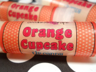 Orange Buttercream Cupcake Lip Balm - Lip Candy Lip Balm