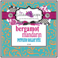 Bergamot Mandarin Perfume Oil - 10 ml - Roll On Perfume