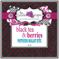 Black Tea and Berries Perfume Oil - 10 ml - Roll on Perfume