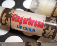 Gingerbread Cookie Lip Balm - Handmade