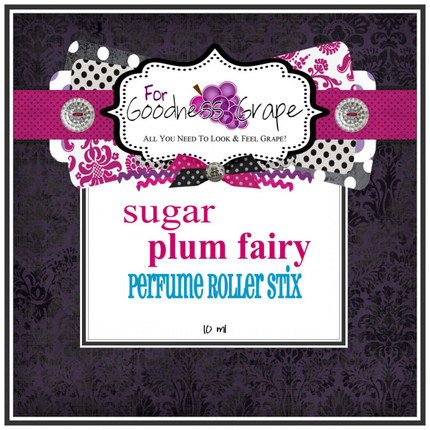 Sugar Plum Fairy Perfume Oil - Roll On Perfume - 10 ml