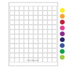 Cryogenic Laser Labels (Letter Format) - 19.1 x 19.1mm #CL-16