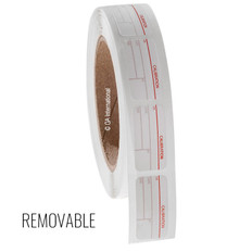 Calibration Labels - 19mm x 38mm #CALA-001-1R