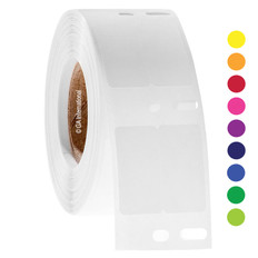 DYMO-Compatible Cryogenic Labels - 12.7mm x 25.4mm #ED1F/EF1F-040 colors