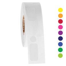 Paper Labels for DYMO Printers - 12.7mm x 26.4mm + 9.5mm  #EDY-072
