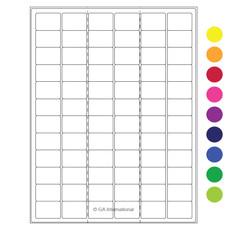 Cryogenic Laser Labels (Letter Format) - 32 x 22.1mm #CL-9