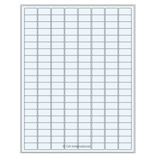 Transparent cryogenic removable laser labels - 23.9 x 12.7mm #TRCL-12