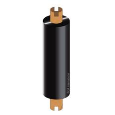 Zebra Thermal Transfer Wax-Resin Ribbon - 84mm x 74m #WR84X74C0.5-1ZZ4