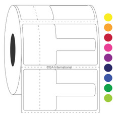 Optical frame labels - 56.9 x 31.8mm  #TTOL-2