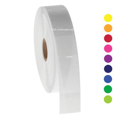 Wrap-Around Labels for Cryogenic Use - 25.4 x 30 +43mm wrap #HBTT-309NOT