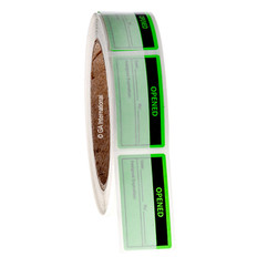 Calibration Labels - OPENED - 25.4mm x 50.8mm  #CALA-007-1R