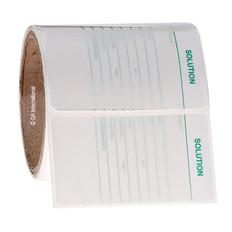 Calibration Labels  - SOLUTION - 88.9 x 50.8mm  #CALA-005-0.25R