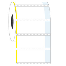 Cover-Up Labels for Frozen Containers - 50.8 x 22.2 + 9.5mm #AEA-4