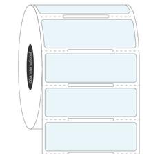 Transparent Cryo Labels - 50.8 x 15.9mm  #HBCL-85 Notch