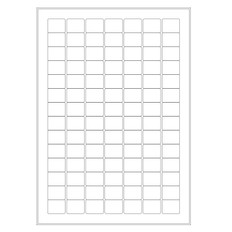 Cryogenic Inkjet Labels Sheet Format - 24mm x 19mm #A4AJA-32