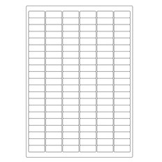Cryogenic Inkjet Labels Sheet Format - 31.5 x 13mm #A4AJA-23