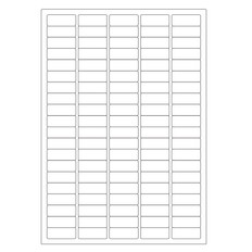 Cryogenic Inkjet Labels Sheet Format - 36 x 14mm #A4AJA-6