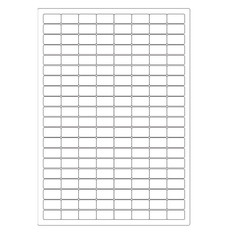 Cryogenic Inkjet Labels Sheet Format - 24 x 13mm #A4AJA-12