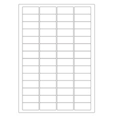 Cryogenic Inkjet Labels Sheet Format - 45 x 20mm #A4AJA-8