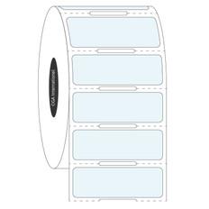 Transparent Cryo Labels - 38.1 x 12.7mm  #HBCL-240 Notch