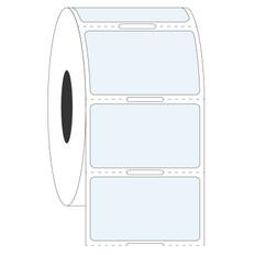 Transparent Cryo Labels - 38.1 x 22.2mm  #HBCL-107 Notch