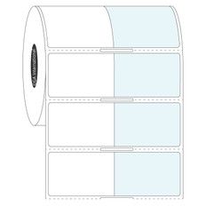 Labels for Frozen Containers - 38.1 x 25.4 + 38.1mm wrap  #FIX-329