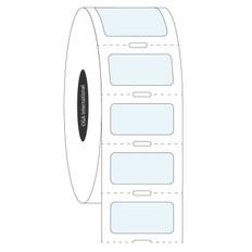 Transparent Cryo Labels - 22.2 x 11mm  #HBCL-254 Notch