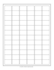 Cryo Inkjet Labels Sheet Format - 32 x 22.1mm #AJA-9