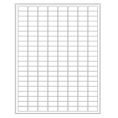 Laser Labels for Autoclave Laboratory Glass Wear - 23.9 x 12.7mm #AKA-12
