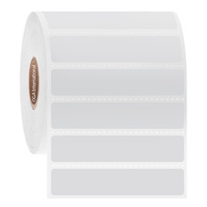Cryogenic Direct Thermal Labels - 63.5 x 12.7mm  #DFP-32