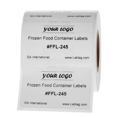 Frozen Food Container Labels - 50.8mm x 31.8mm #FFL-245