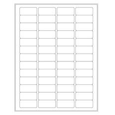 Laser & Inkjet Matte Removable Paper Labels - 45 x 20mm #RLZP-8 White