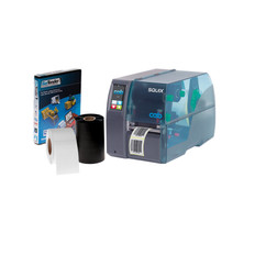 CAB SQUIX 4 M (300 dpi - Professional Version Software) Industrial Printing Kit  #PKT-SQM-31