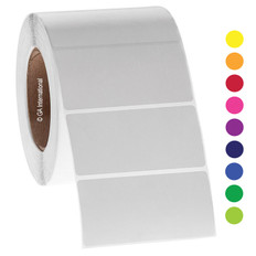 Paper Labels for Thermal Transfer Printer - 101.6mm x 50.8mm #GPA-62