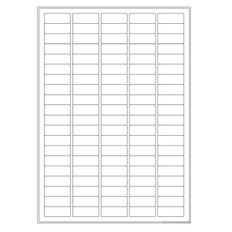 Cryogenic Inkjet Labels Sheet Format - 36 x 14mm  #A4AJA-6WH
