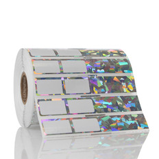 Sparkle Rat-Tail Jewelry Labels for Thermal-Transfer Printers - 95.3mm x 15.9mm #JSLA-1NOT