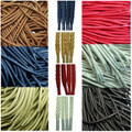 Cord 5mm Waxed Cotton Hiking/ Walking/ Work Boots Laces