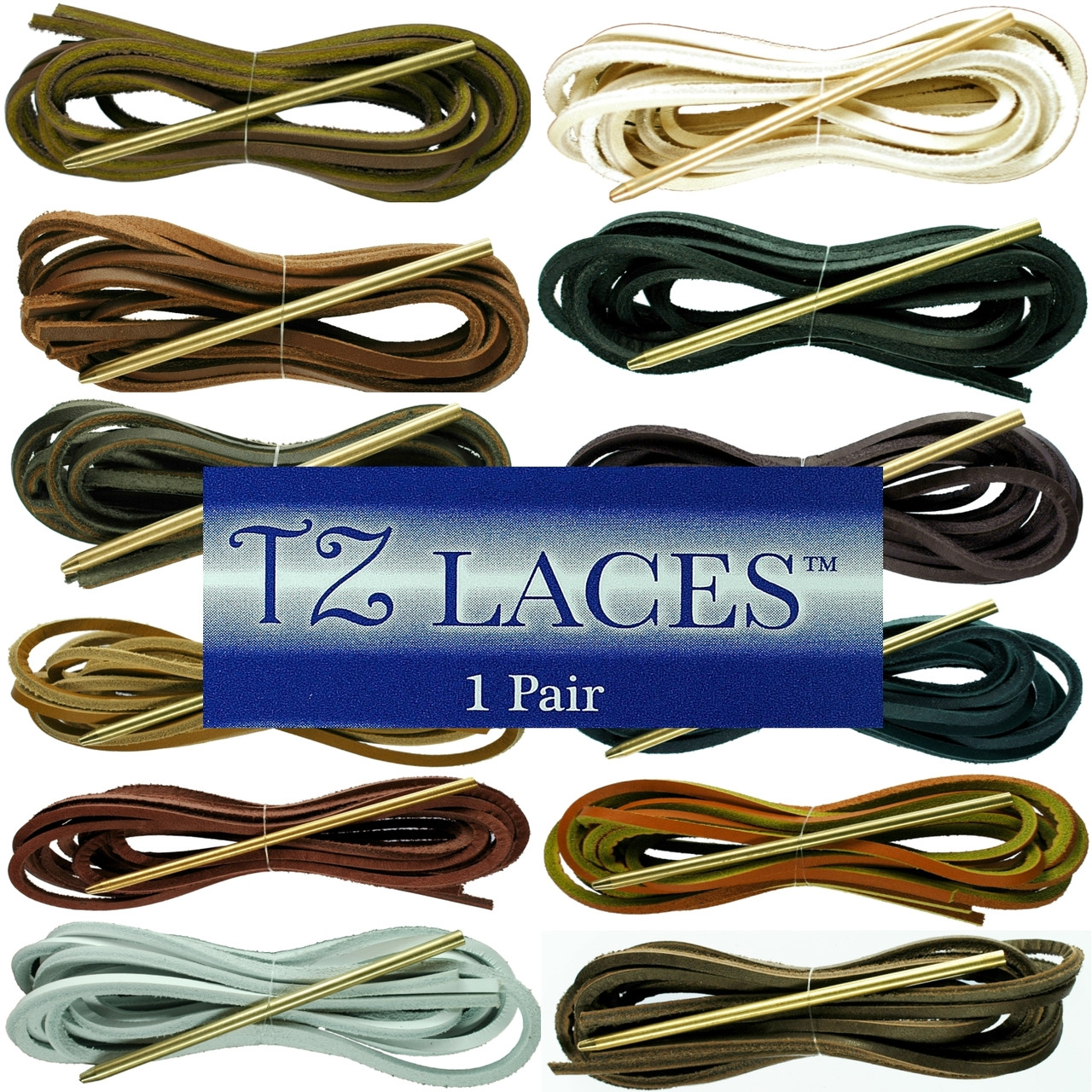 09bb83a70ac2 Replacement Leather Lace Kit For Deck Shoes Includes Needle. Price  £6.70.  Image 1