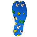 Kids Flat Bed Latex Animal Cut To Fit Insoles For Shoes/Trainers